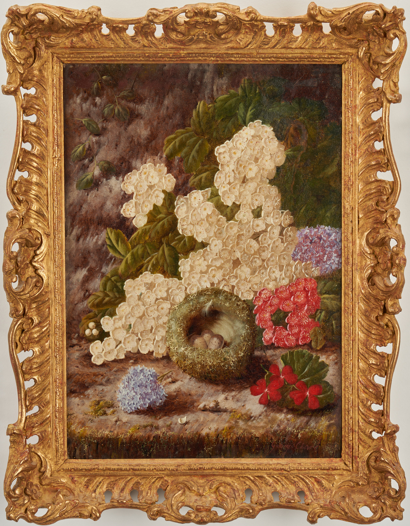Lot 119: George Clare O/C Floral Still Life