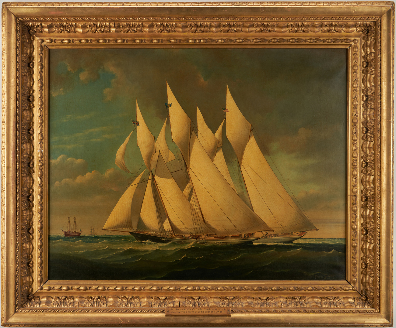Lot 125: Charles Gregory O/C, America's Cup – Cambria
