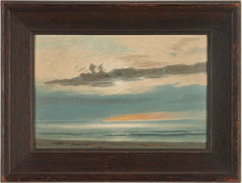 Lot 127: William Bradford O/B Seascape