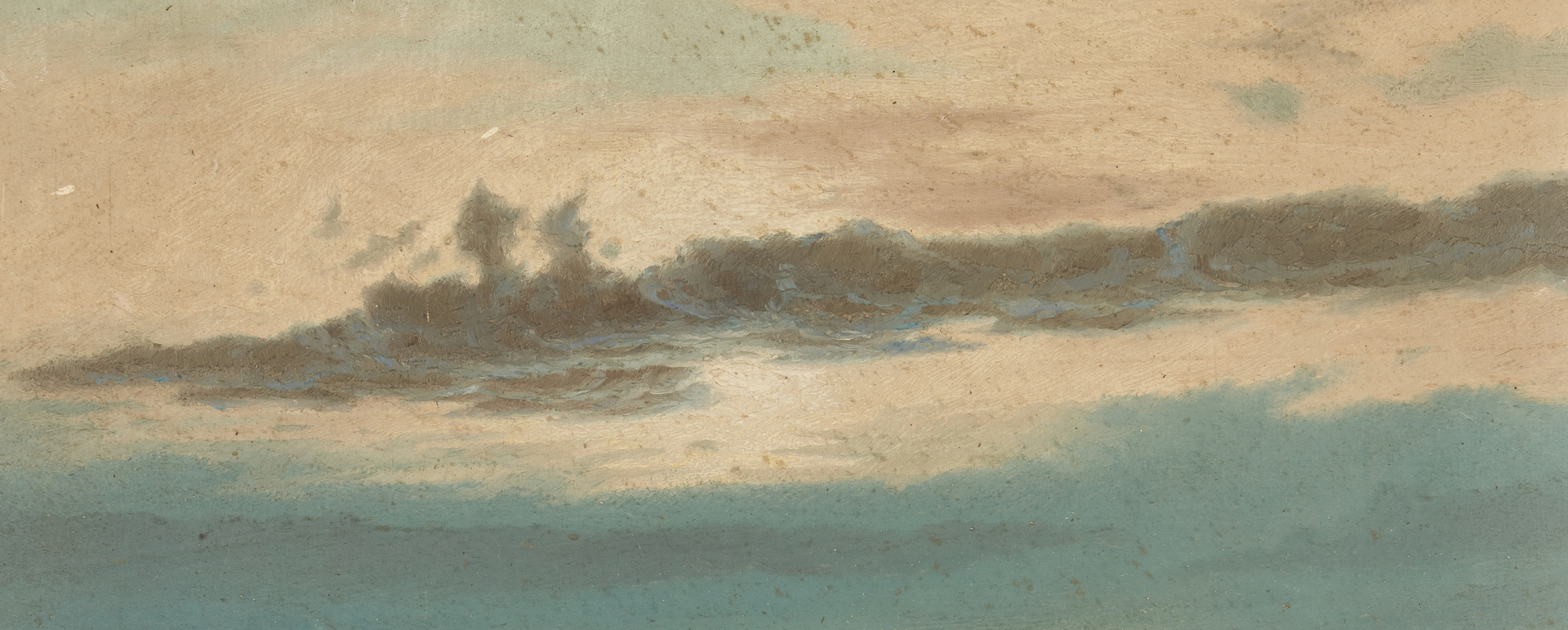 Lot 127: William Bradford O/B Seascape