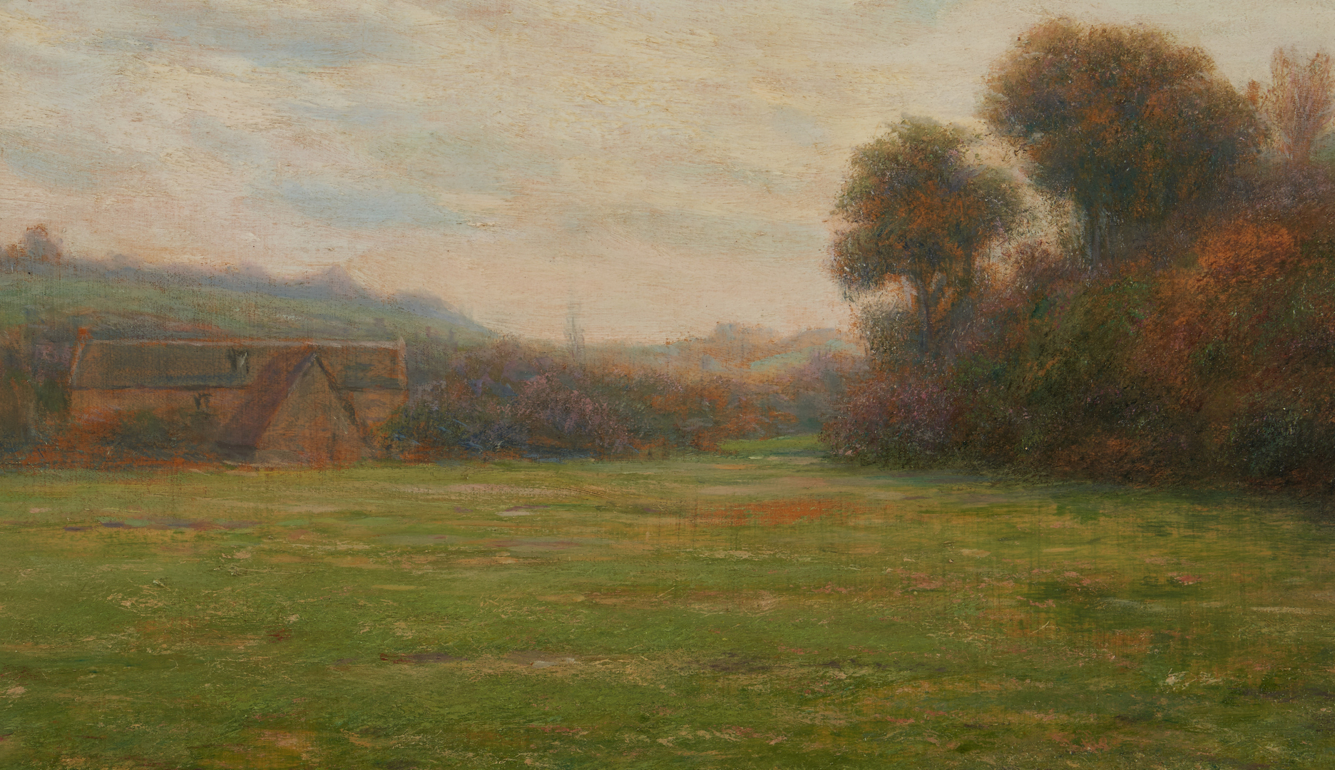 Lot 136: Thomas Alexander Harrison O/B Farm Scene