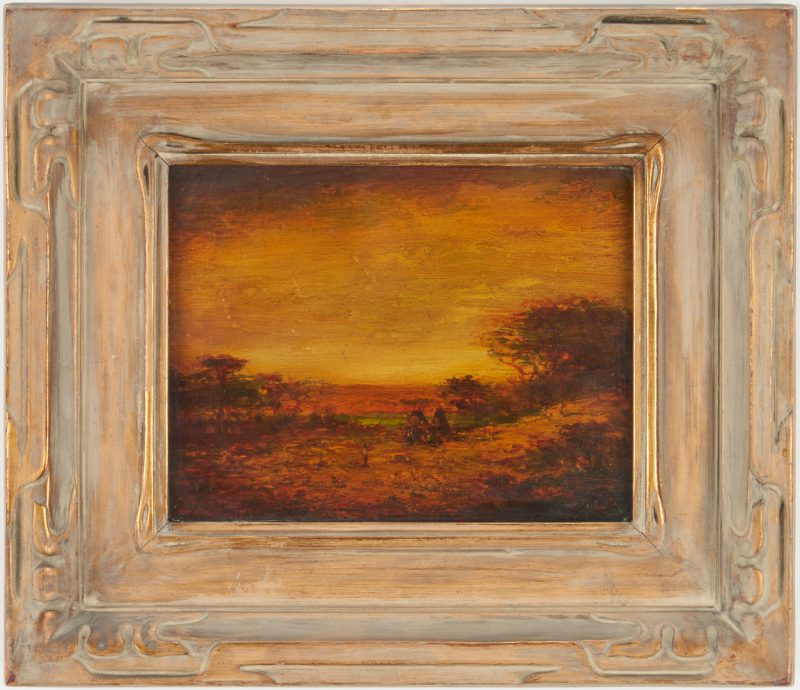 Lot 138: Hudson Kitchell O/B, Teepees at Sunset