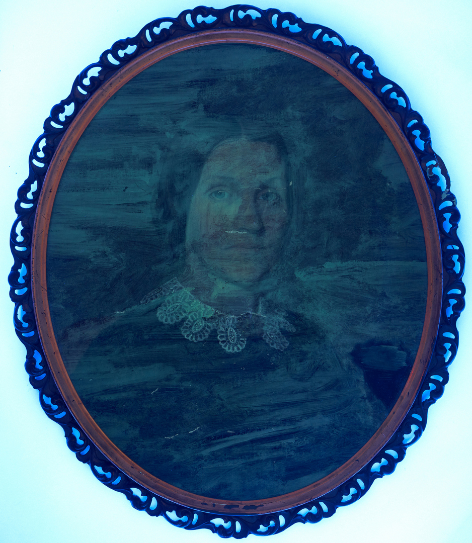 Lot 144: Samuel Shaver, Pair of East TN Portraits