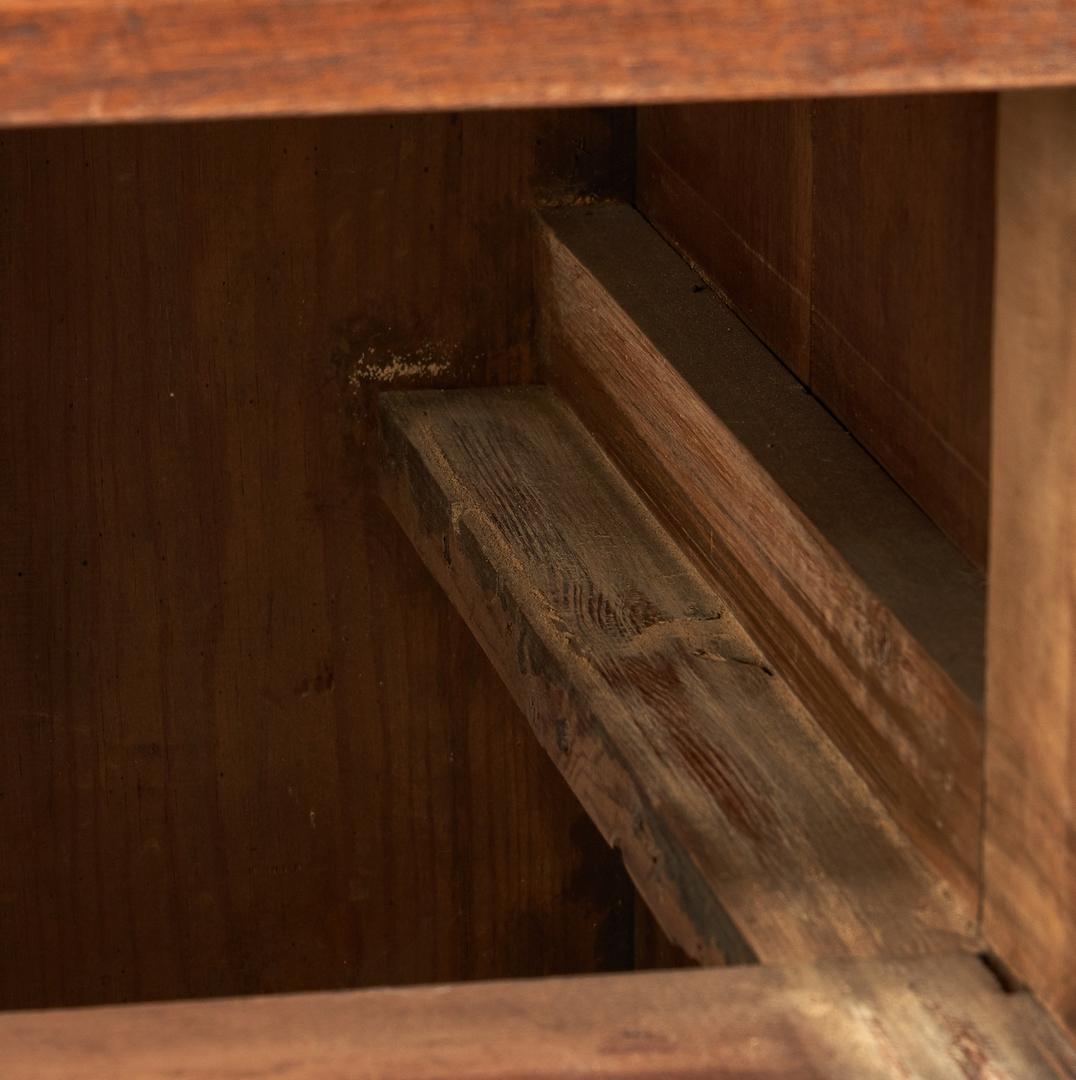 Lot 159: Southern Chippendale Walnut Press
