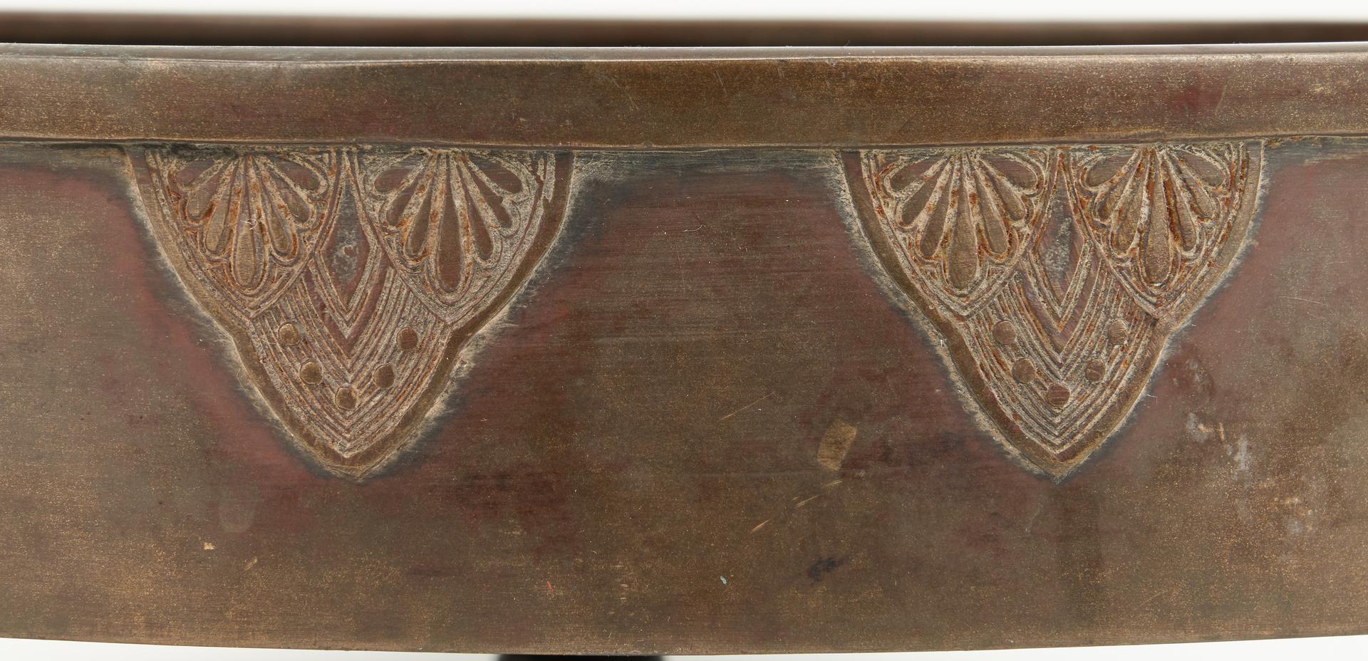 Lot 15: Large Japanese Meiji Bronze Water Vessel or Censer