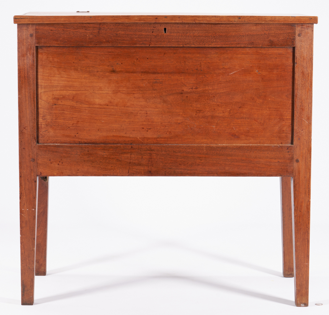 Lot 161: Southern Hepplewhite Sugar Chest