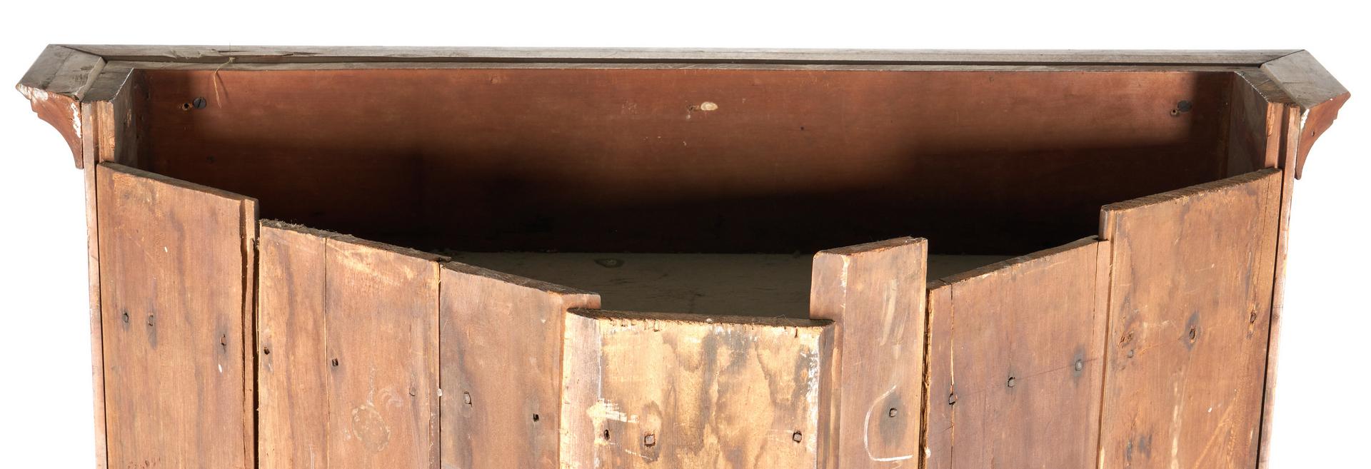 Lot 166: Middle TN Corner Cupboard, Dekalb Co.