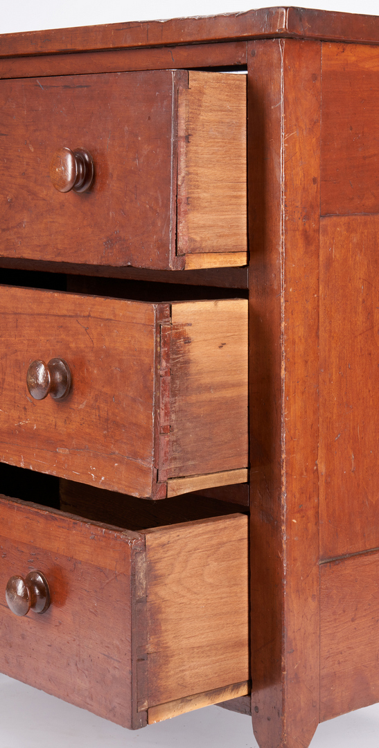 Lot 175: Diminutive Middle TN Cherry Chest of Drawers