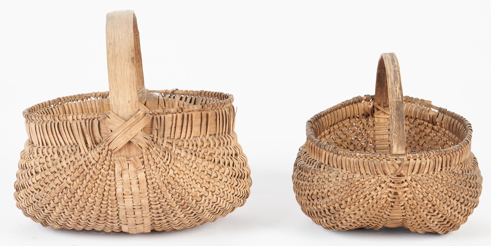 Lot 179: 4 East TN Split Oak Baskets