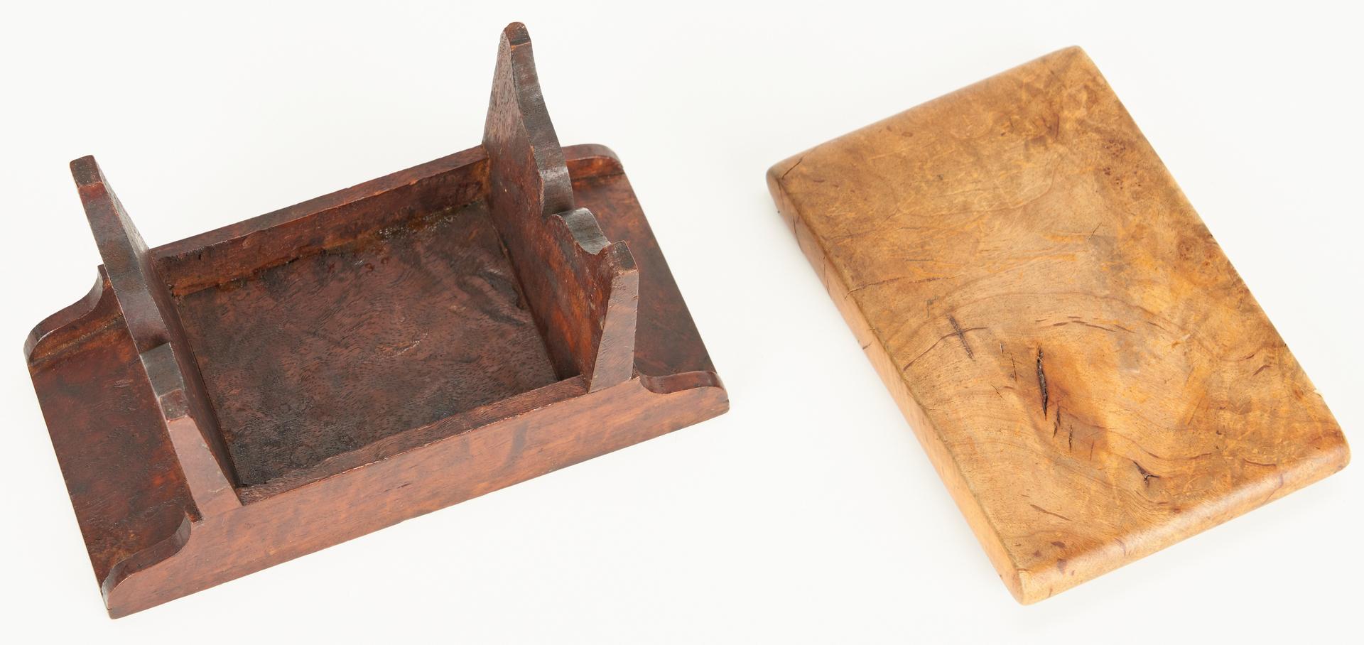 Lot 185: 12 Assorted Maple & Burl Treenware Items