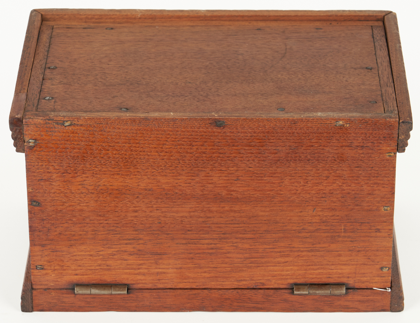 Lot 189: Miniature Blanket Chest Box & Document Box