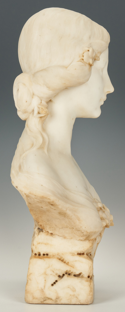 Lot 209: Giovanni P. Cipriani, Bust of a Woman