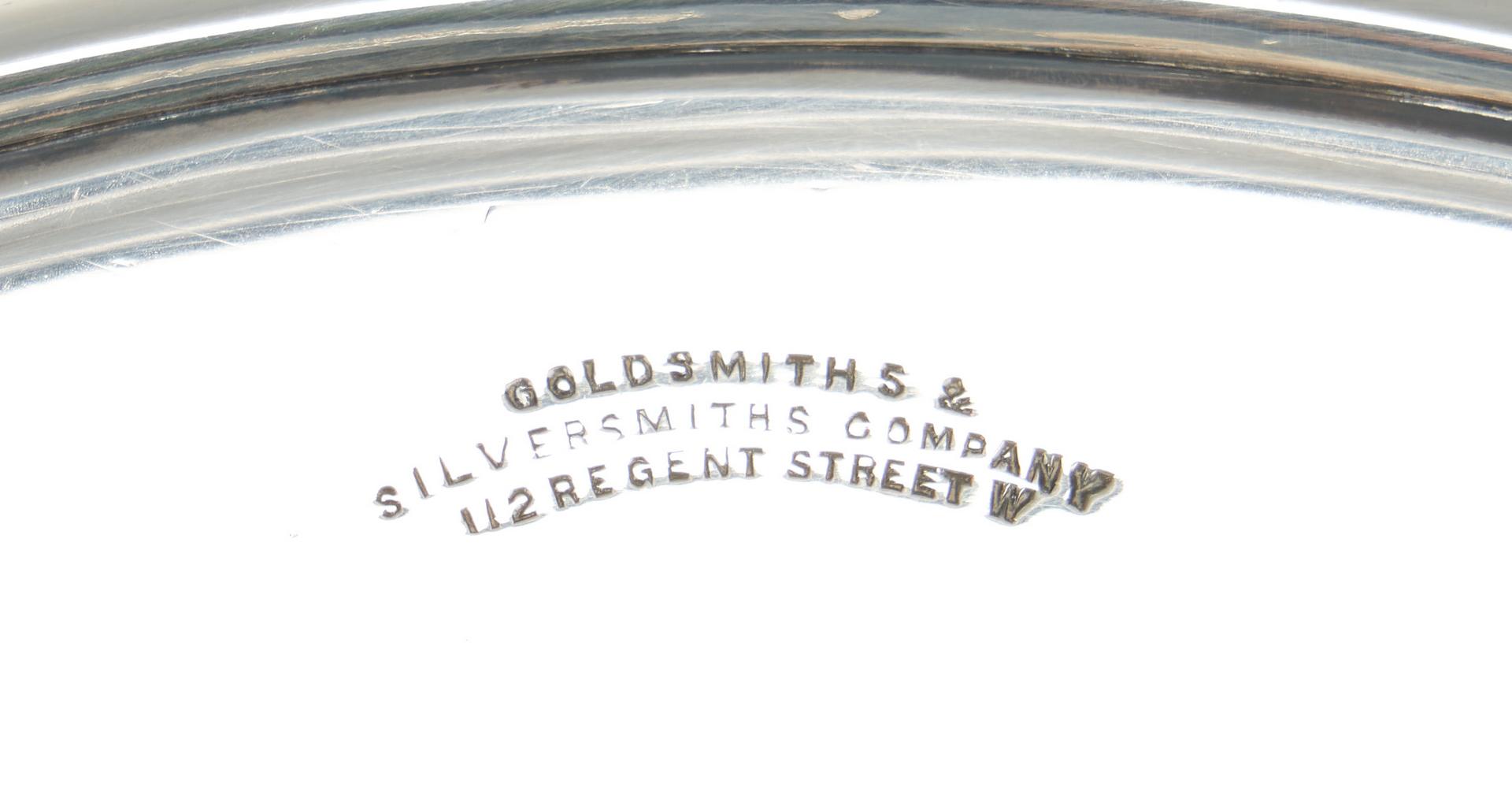 Lot 244: 3 Piece English Sterling Tazza Set