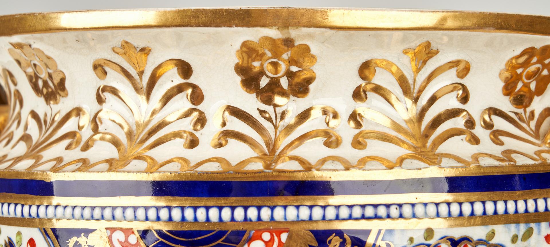 Lot 264: English Imari Porcelain Tureen