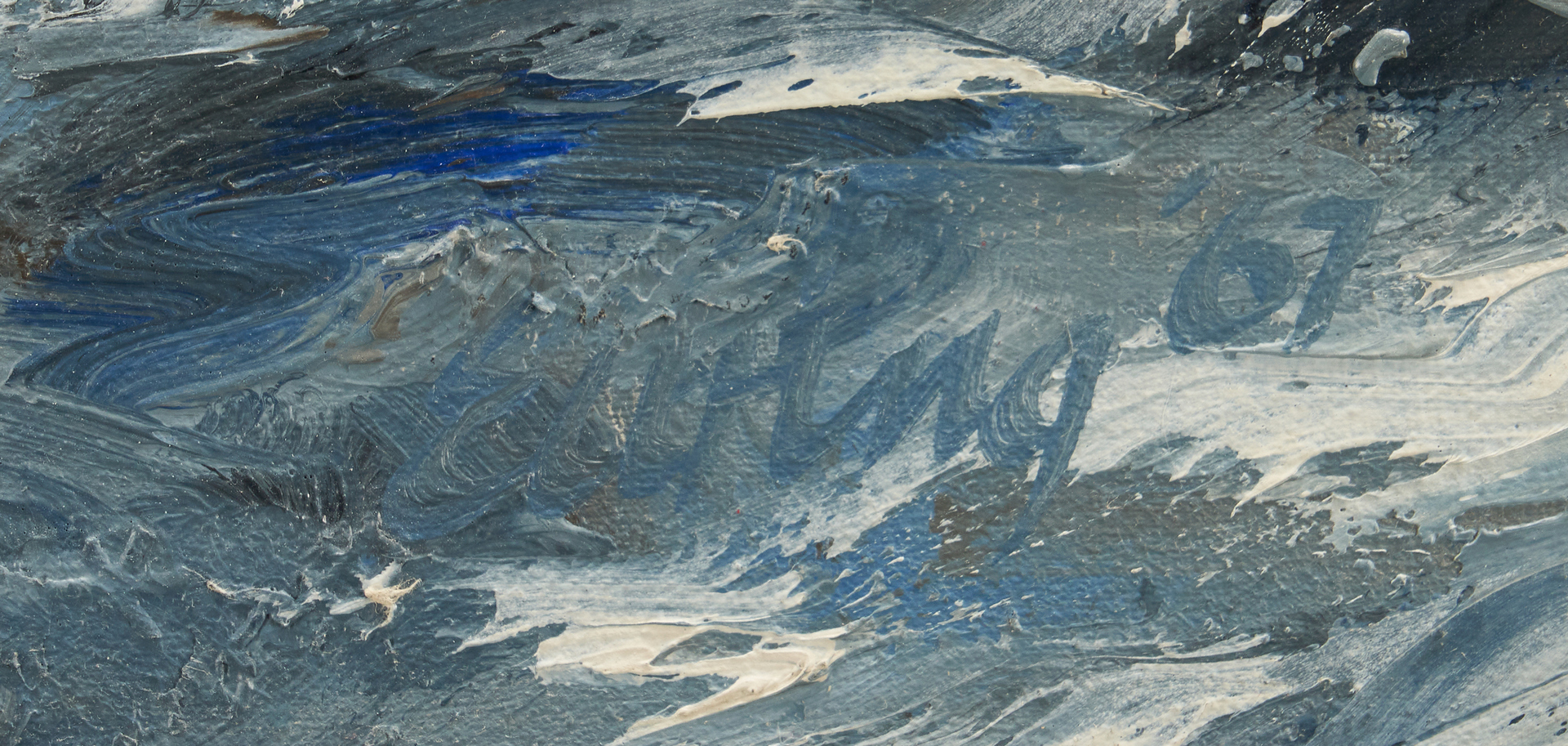 Lot 285: C. Kermit Ewing Oil on Canvas  Seascape