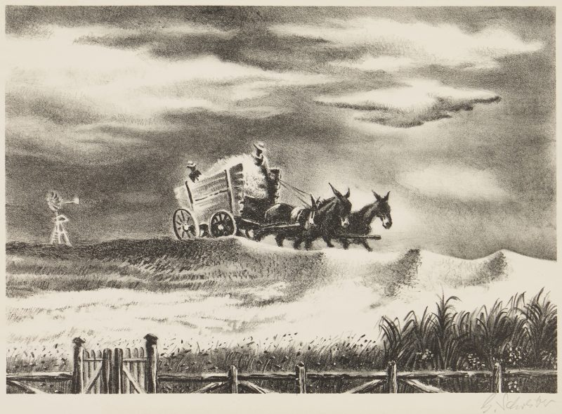 Lot 288: George Schreiber Litho, In Tennessee