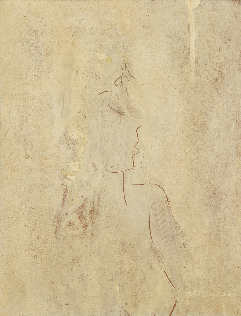 Lot 292: Sterling Strauser O/B, Nude Painting