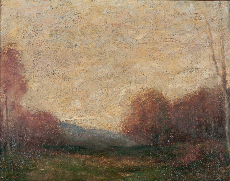 Lot 296: John Francis Murphy Tonalist Landscape O/C