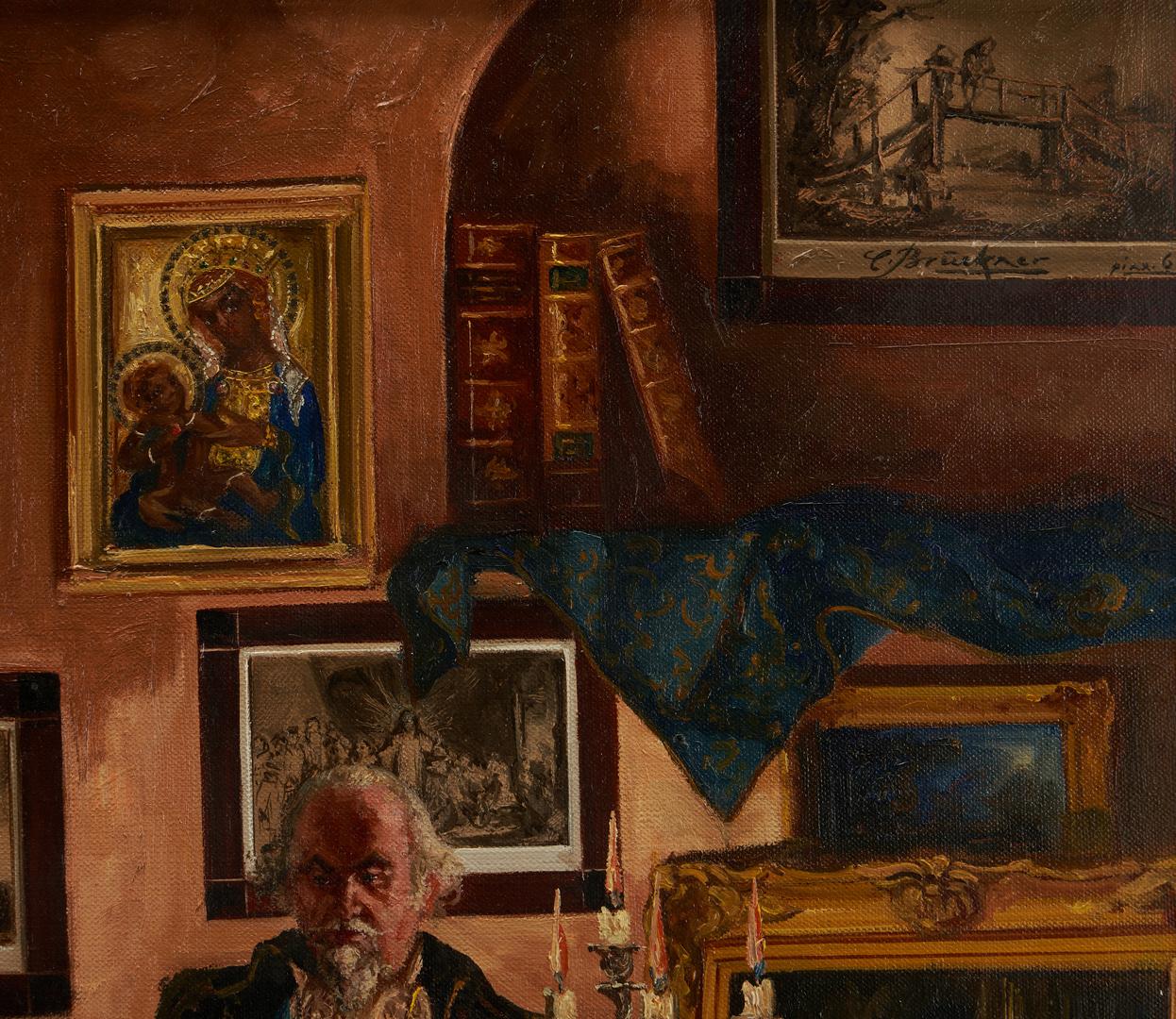Lot 304: Curt Echtermeyer O/C, The Art Dealer and the Patron