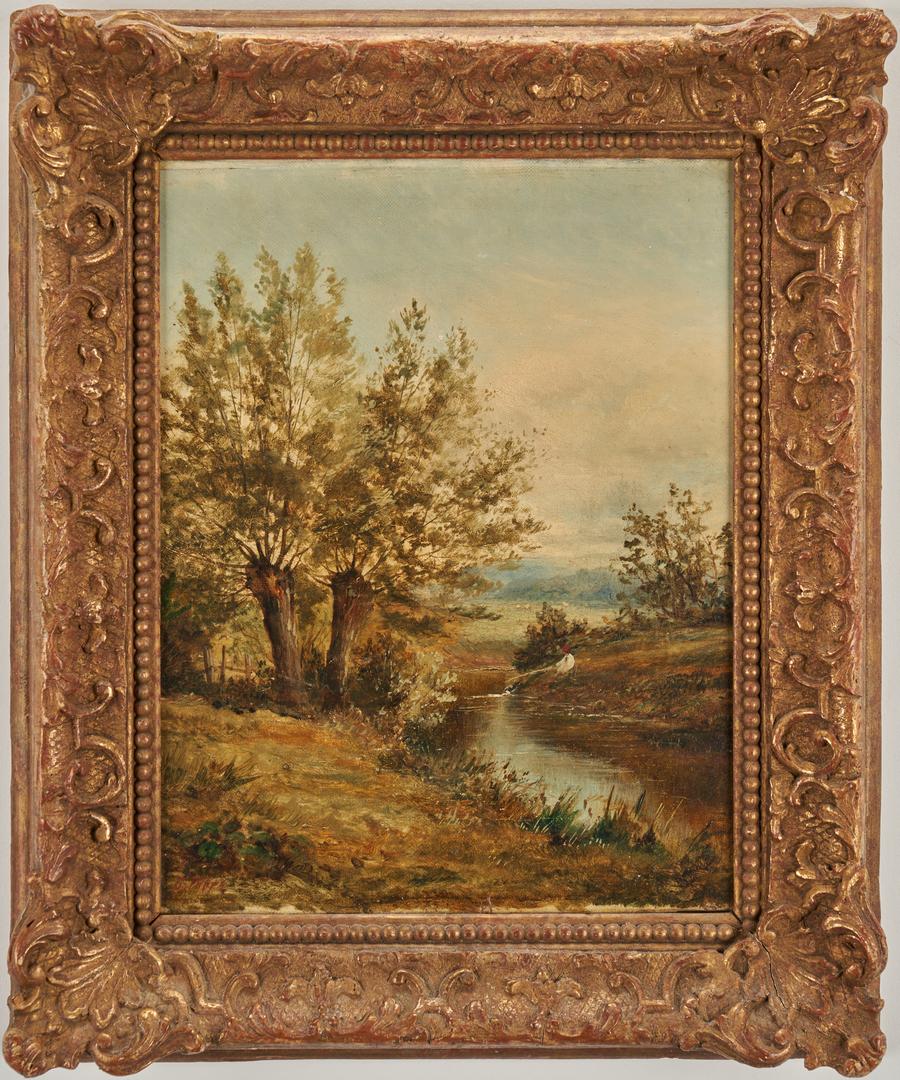 Lot 323: 2 English Landscapes, G. Boyle & J. Thors