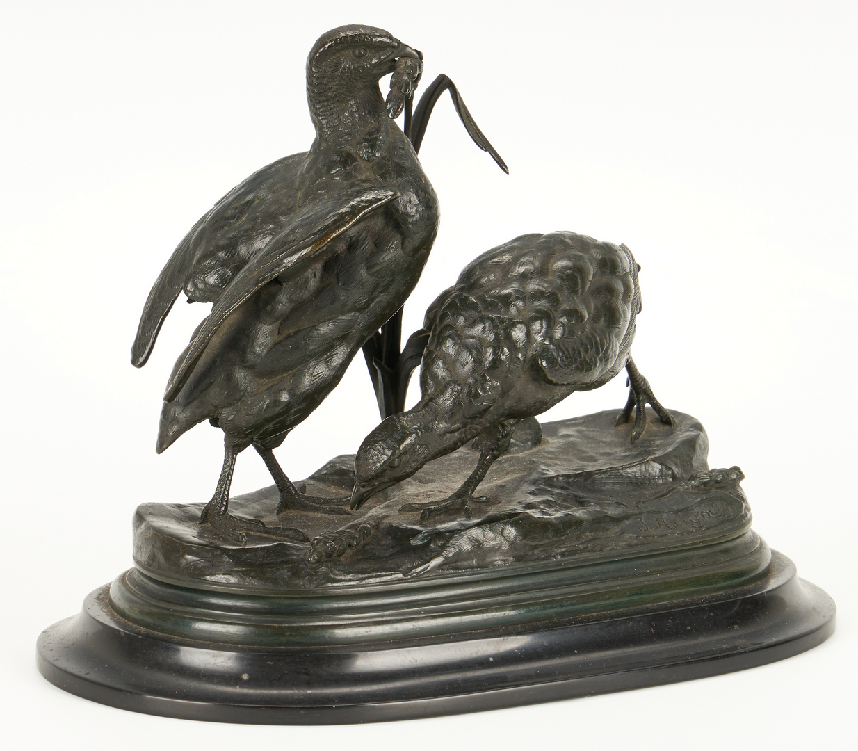 Lot 334: 4 French Bronze Animal Sculptures