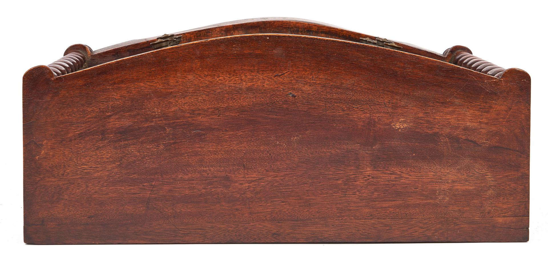 Lot 339: English Miniature Mahogany Chest