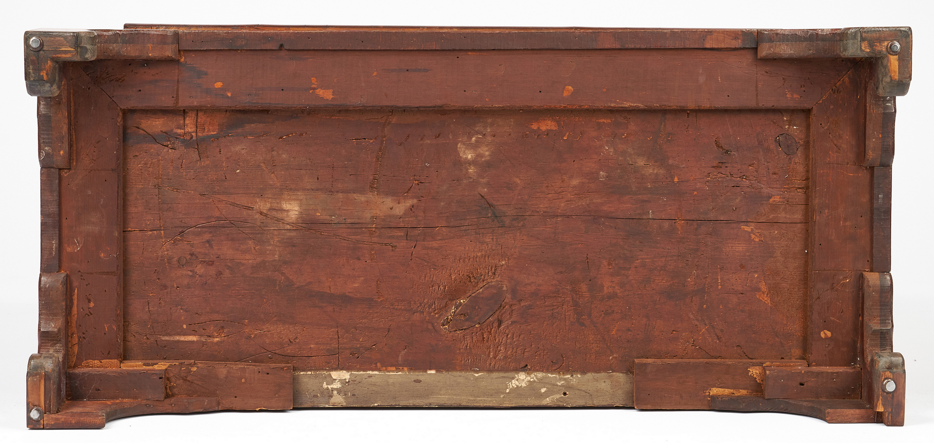 Lot 343: American Chippendale Mahogany Chest of Drawers