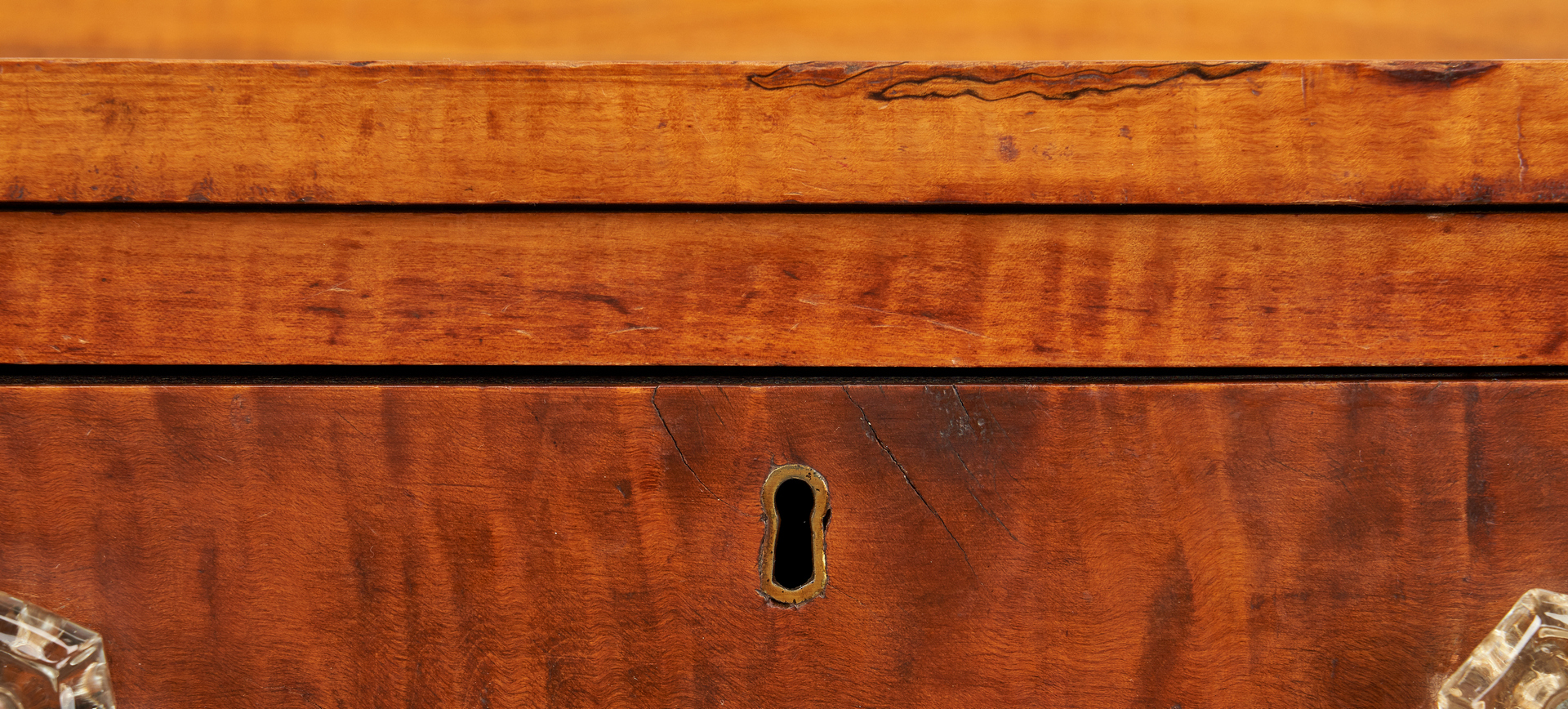 Lot 347: American Tiger Maple Server
