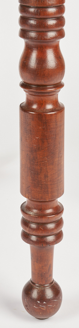 Lot 356: Mid-Atlantic 2-drawer Stand, Tiger Maple Front