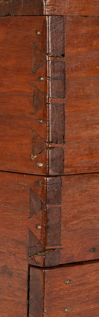 Lot 359: Mint Julep Box or Bottle Case, attr. Kentucky