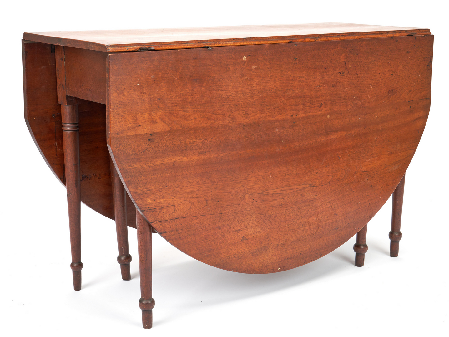 Lot 361: Virginia Sheraton Drop Leaf Table, Signed