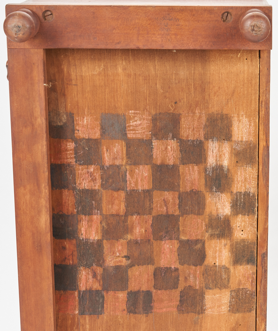 Lot 363: 2 Southern Cherry and Walnut Two-Drawer Storage Cabinets