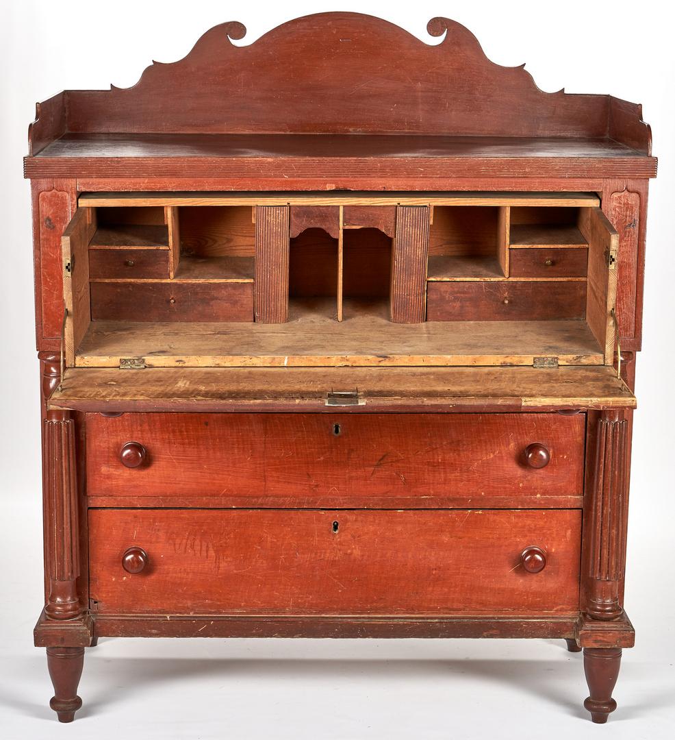 Lot 366: East TN Butler's or Musical Desk, poss. Burgner