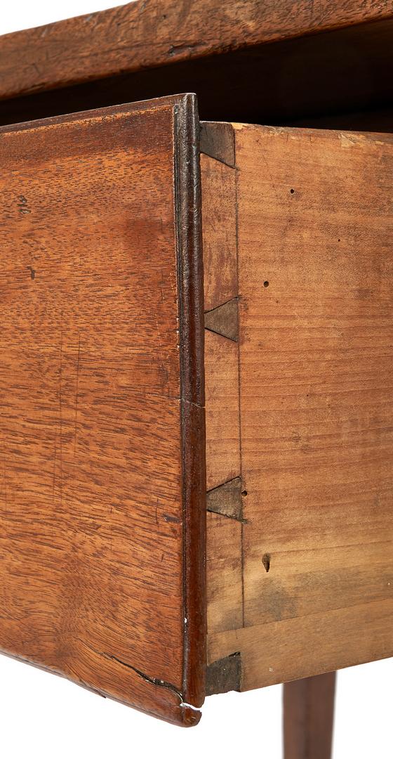 Lot 367: East Tennessee Hepplewhite Work Table
