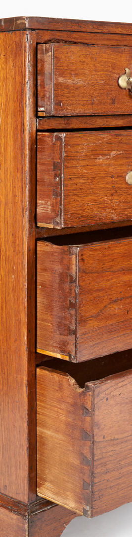 Lot 368: Early Middle TN Walnut Chest of Drawers