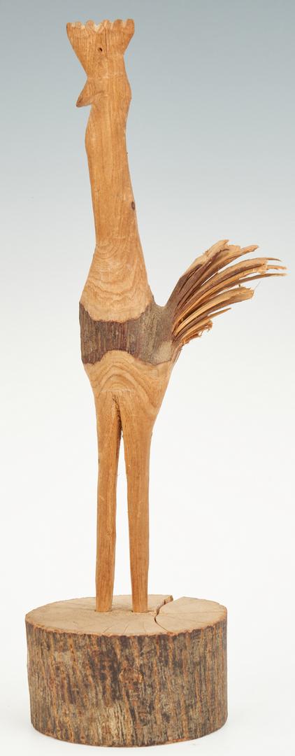 Lot 378: 26 Folk Art Animal Wood Carvings