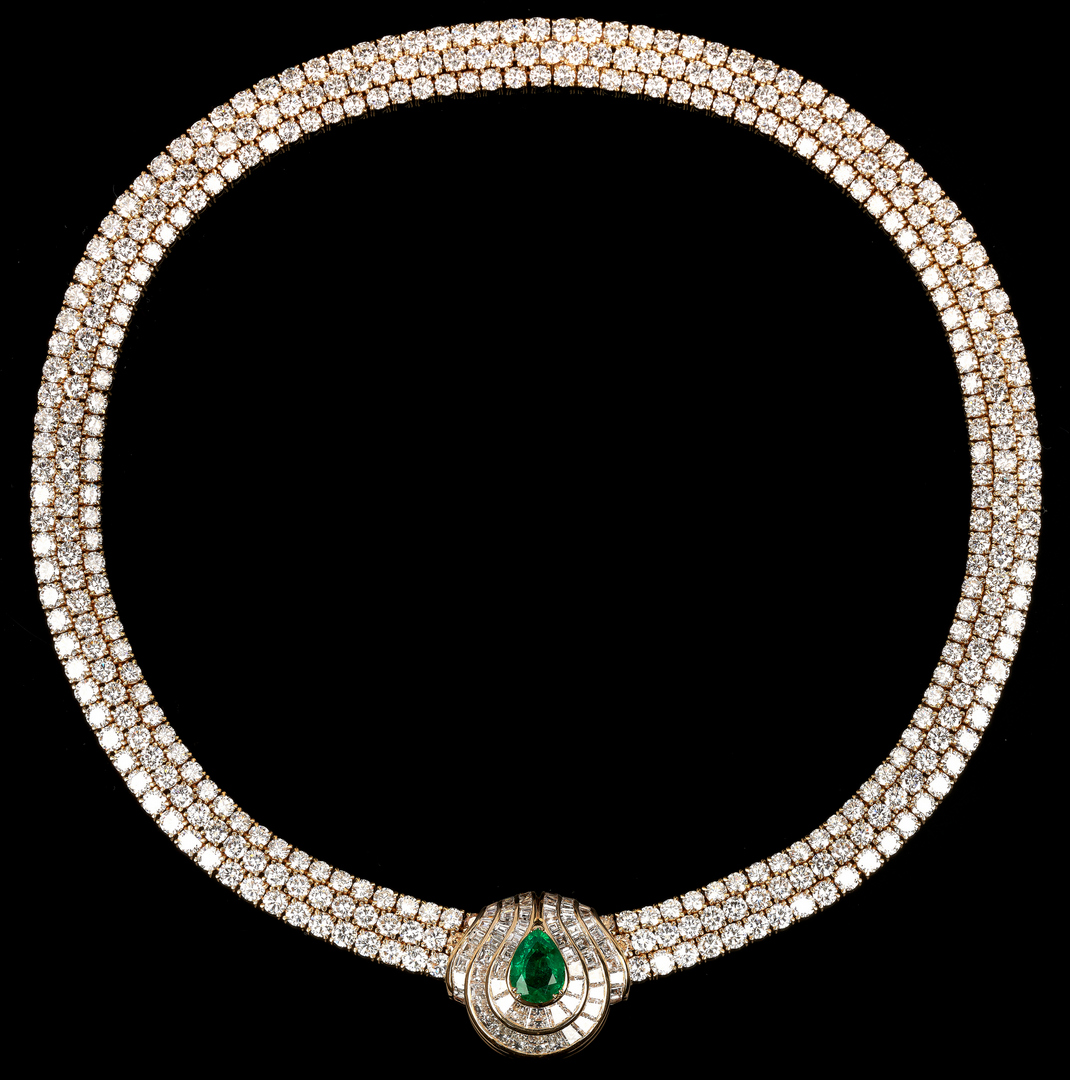 Lot 37: Ladies Piaget High Jewelry Necklace Set