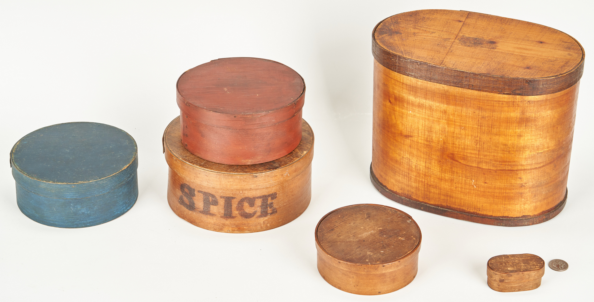 Lot 389: 13 Wooden Kitchen Items