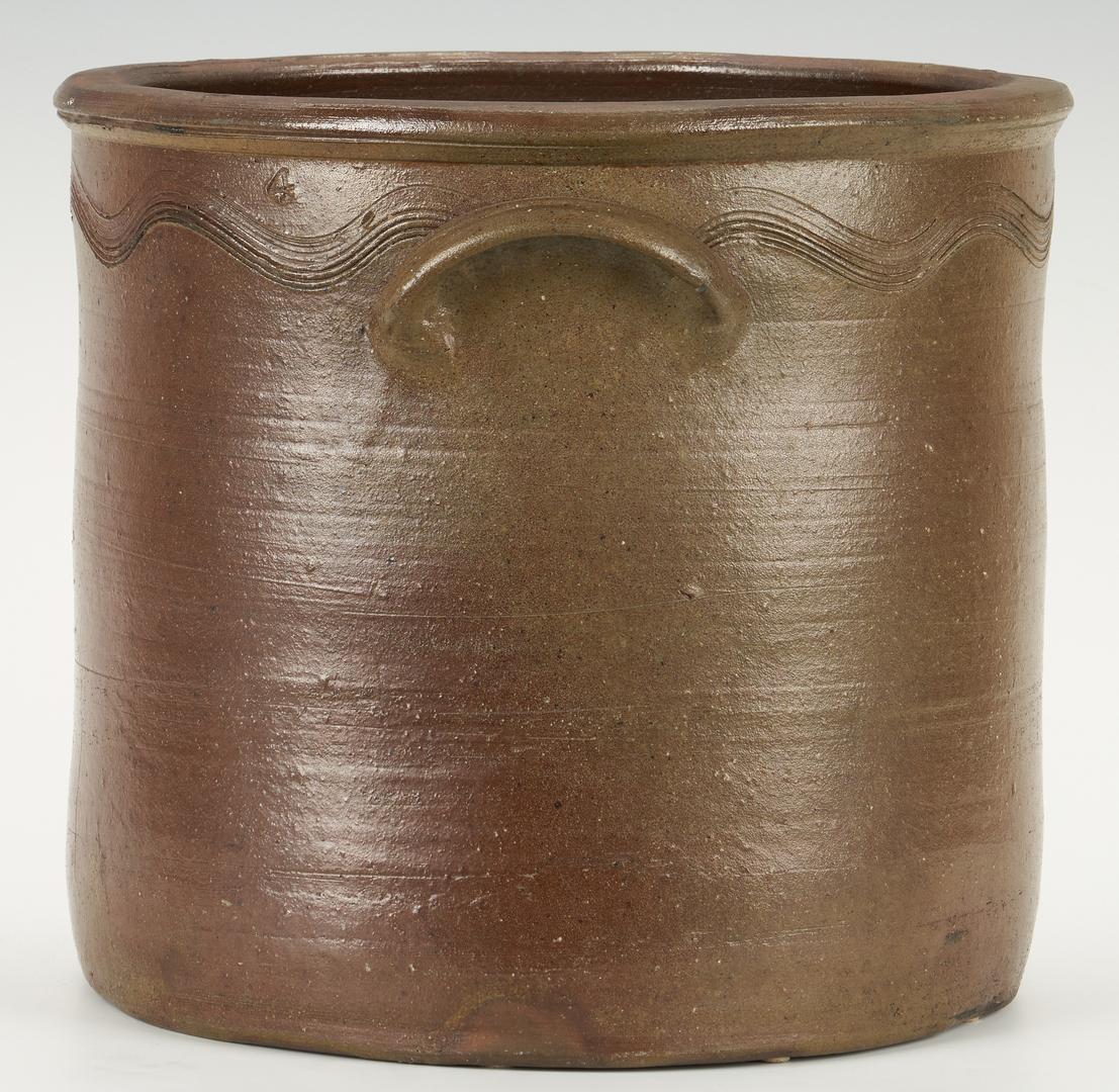 Lot 399: East TN Decker 4-Gallon Stoneware Crock