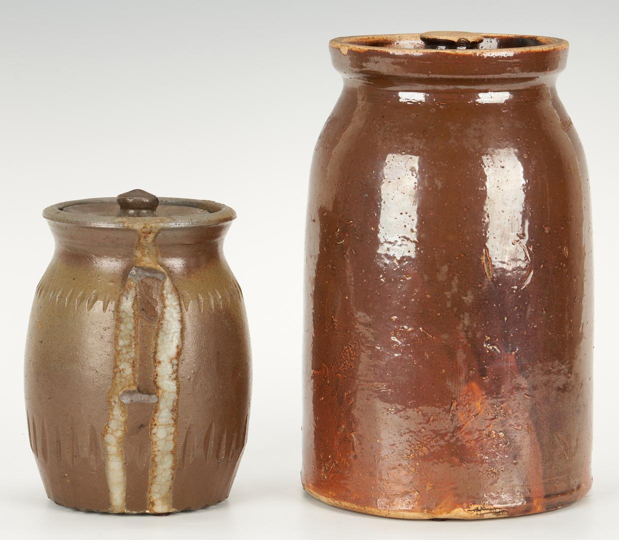 Lot 402: 5 pcs. Middle TN Pottery incl. Nashville Pottery
