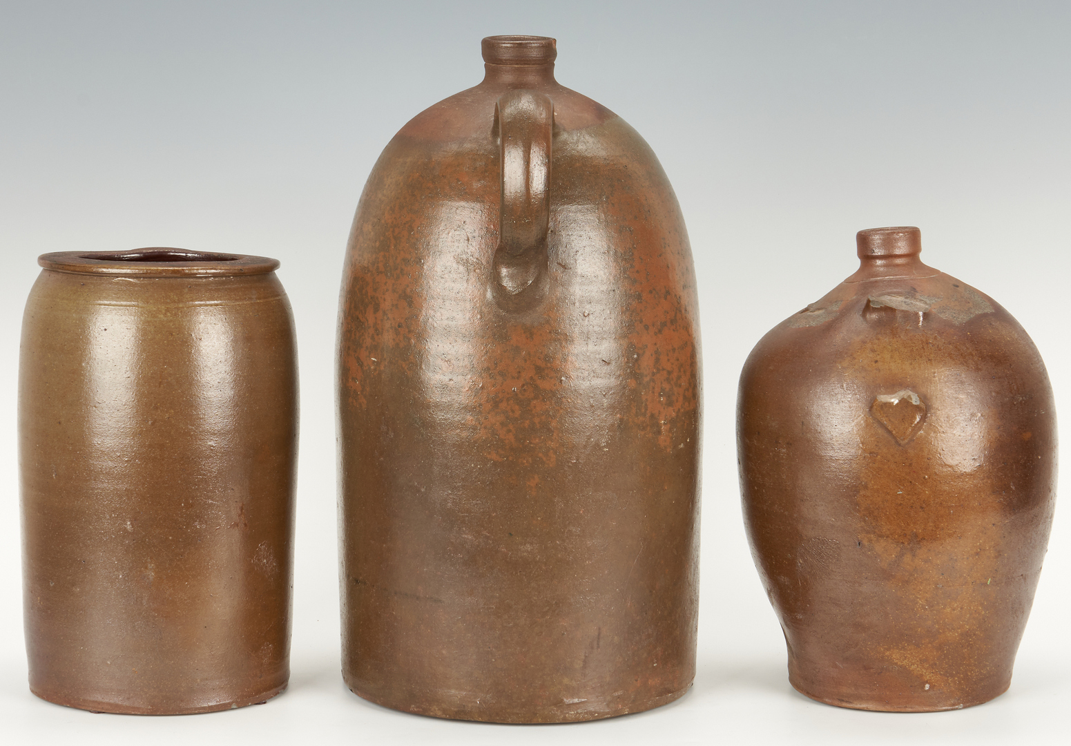 Lot 408: Kentucky and Indiana Stoneware Pottery, Melcher and Usler