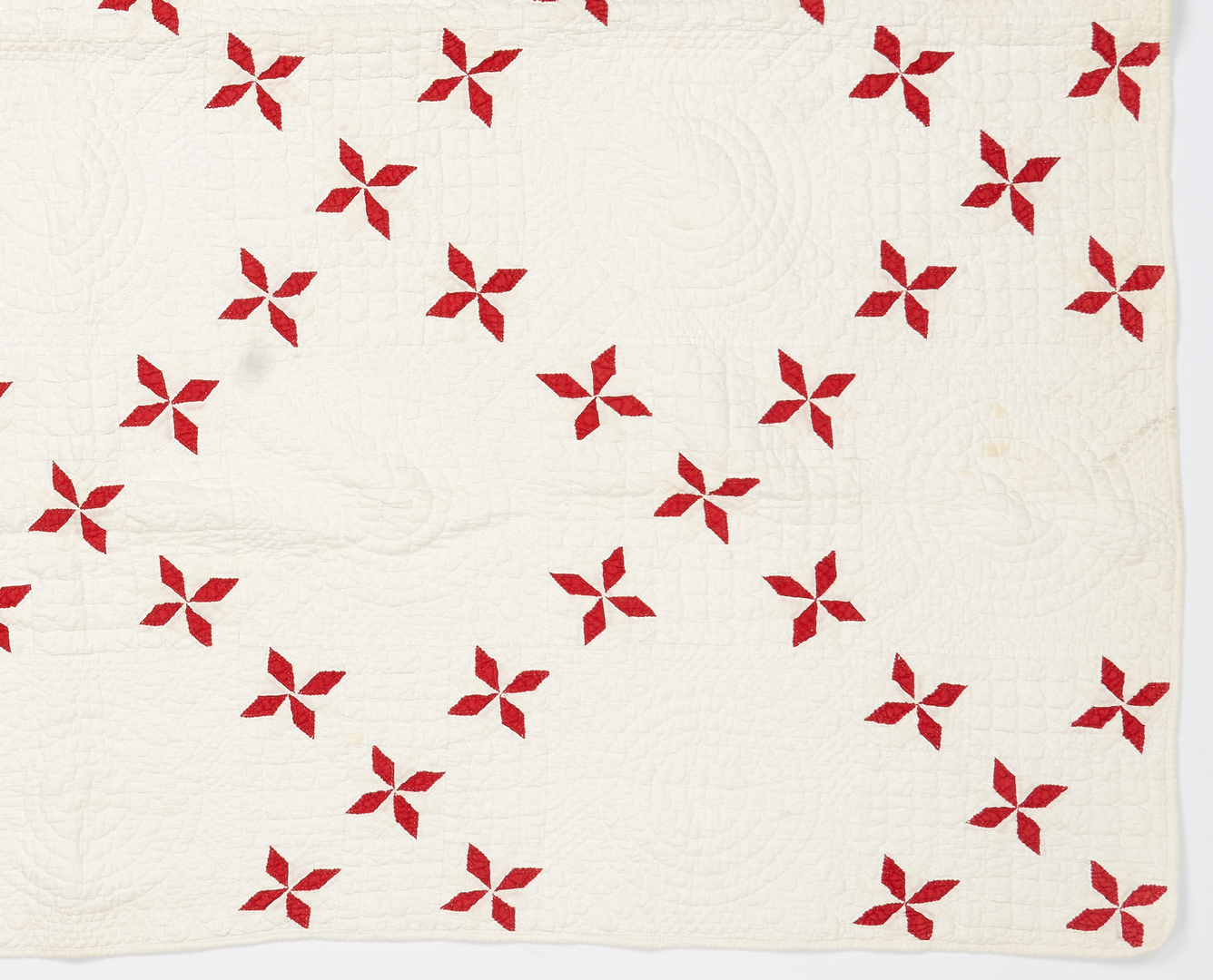 Lot 415: 2 Southern Irish Chain Quilts, likely E. TN