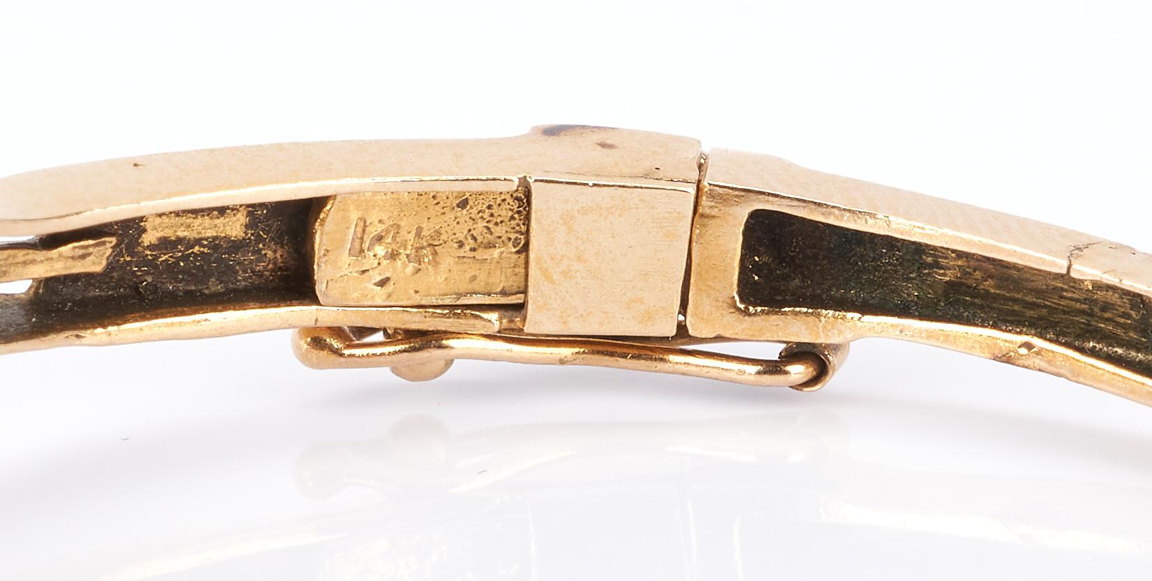 Lot 443: Ladies 14K Gold, Diamond, and Opal Jewelry Set