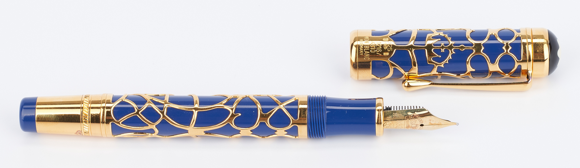 Lot 45: Montblanc Prince Regent 4810 Ltd. Ed. Fountain Pen