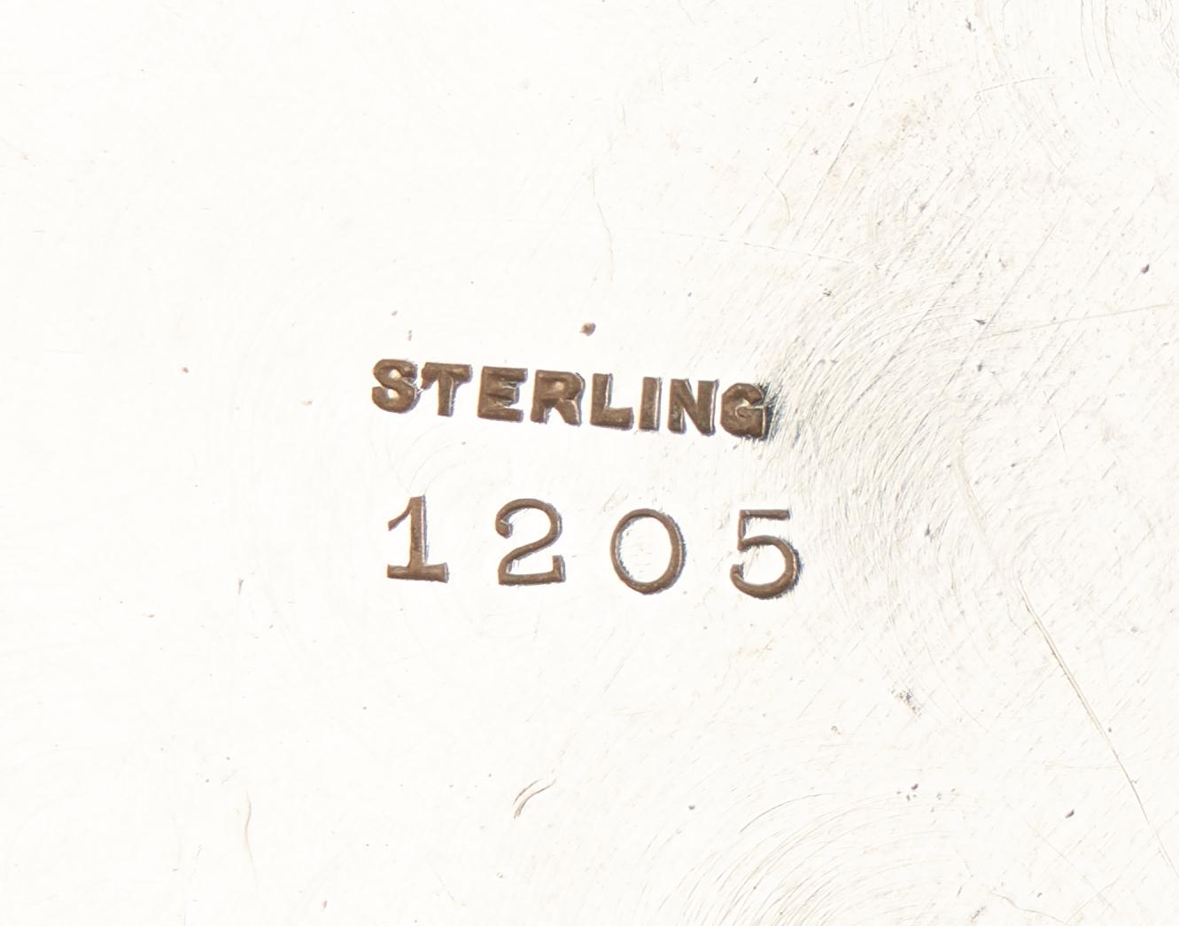 Lot 461: Sterling Bowl, Basket, Flatware, incl. Strasbourg