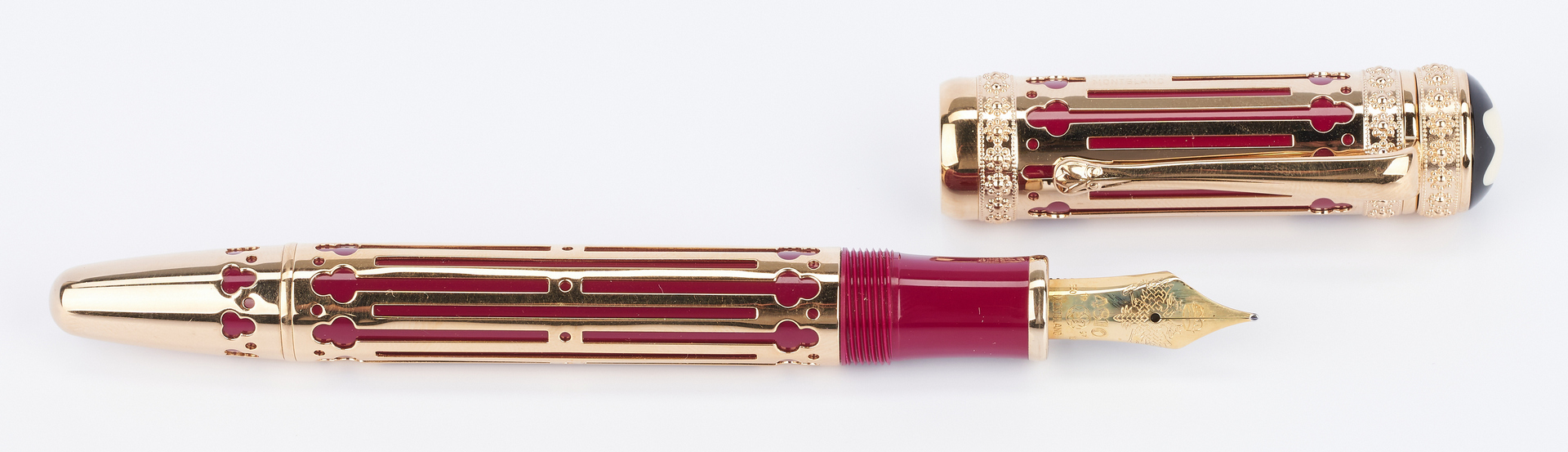 Lot 46: Montblanc Catherine the Great 4810 Fountain Pen