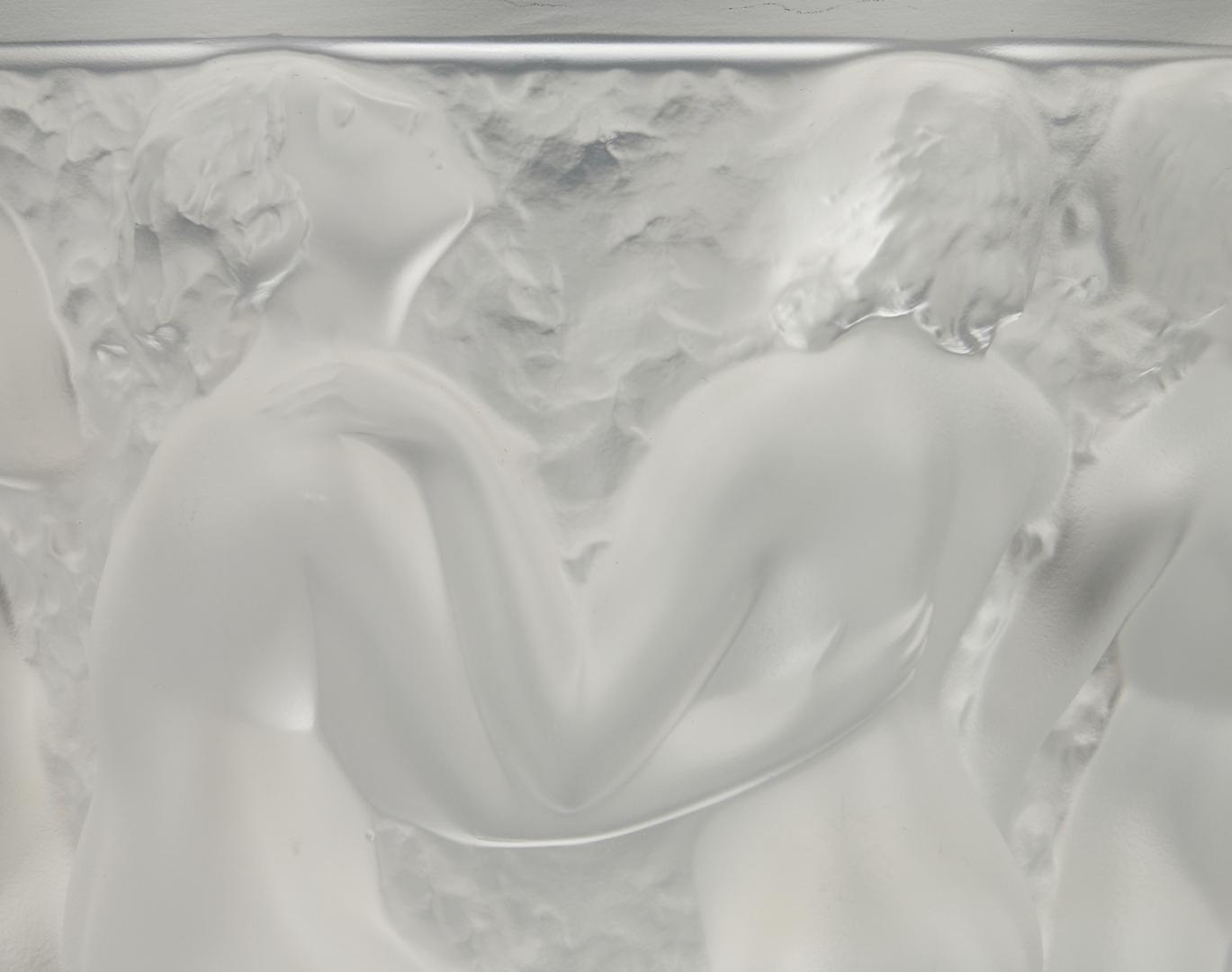 Lot 471: Lalique Bacchante Crystal Vase