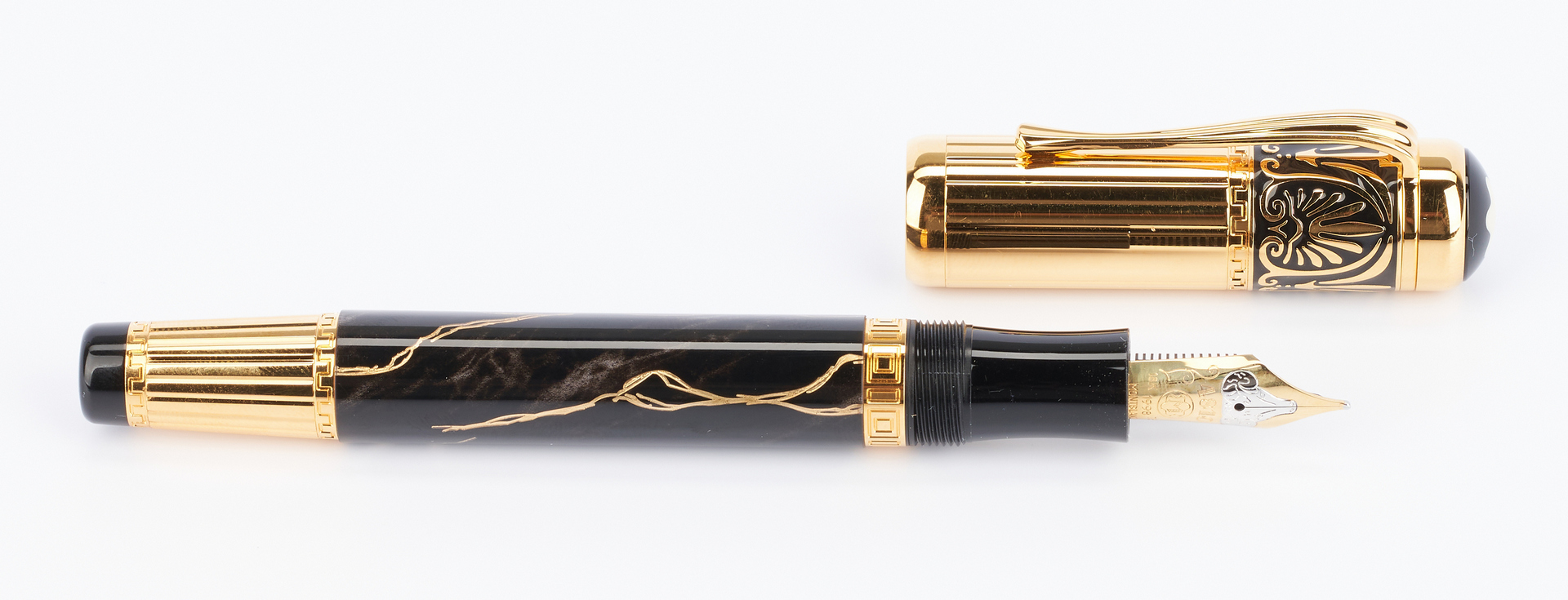 Lot 48: Montblanc Alexander the Great 4810 Fountain Pen