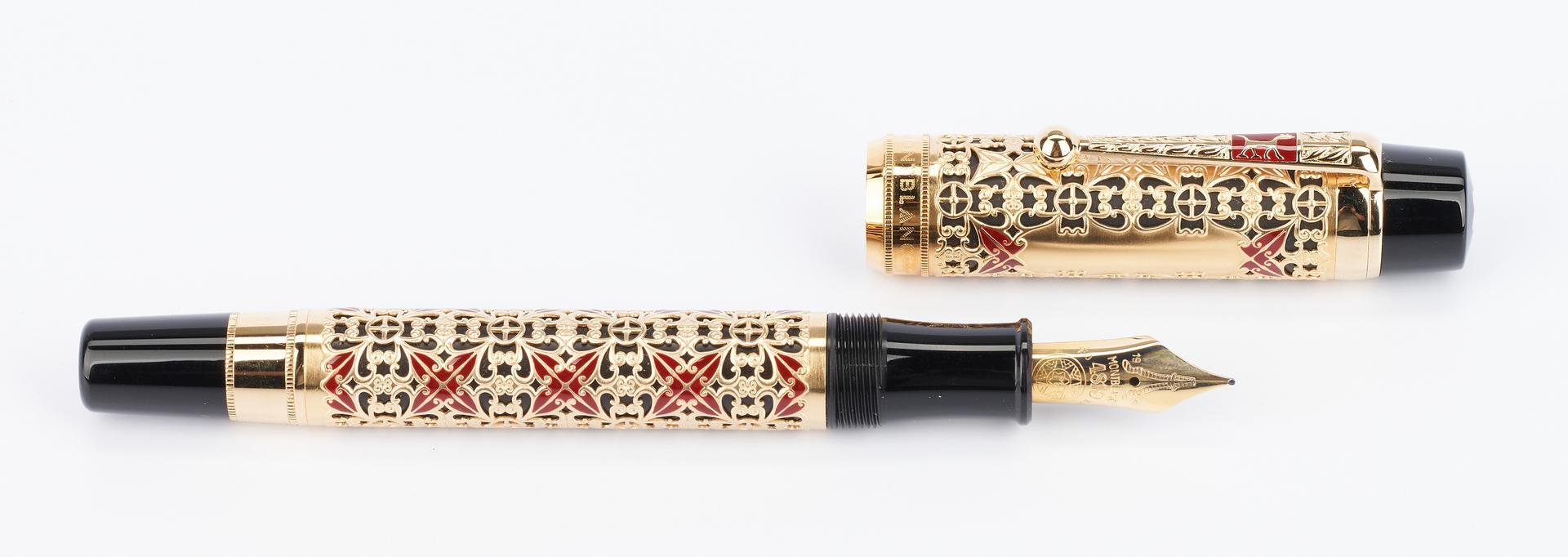 Lot 49: Montblanc Semiramis 4810 Fountain Pen