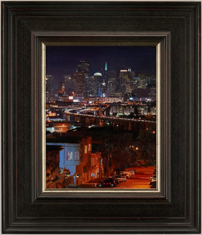 Lot 506: Greg Gandy O/C, View From Potrero Hill